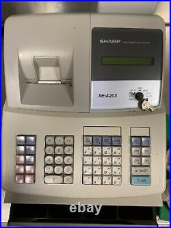 Sharp XE-A203 Cash Register Till shop restaurant