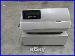 Sharp XE-A203 electronic cash register till with manual and 3 keys