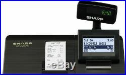 Sharp XE-A207 Cash Register Black Till
