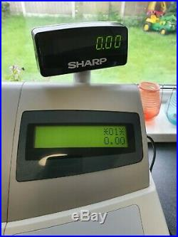 Sharp XE A301 Cash Register Till. Great condition. No reserve price