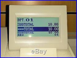 Sharp XE-A307 Cash Register Till Twin Tills Rolls Shop Money XEA307 Programming