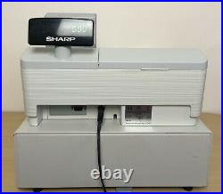Sharp XE-A307 Electronic Cash Register Till Grey Fully Tested