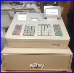 Sharp XE-A307 Electronic Cash Register With Till Rolls