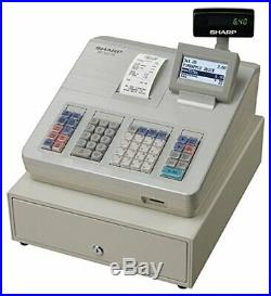 Sharp XEA207W Cash Register/Till. Excellent full working order with instructions