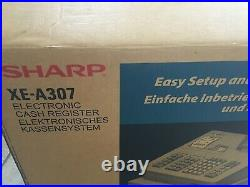 Sharp XEA307 XE-A307 Electronic Cash Register with 10x Till Rolls