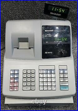 Sharp Xe-a113 Cash Register Till Grade A Refurbished Fast & Free Uk Delivery