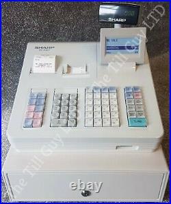 Sharp Xe-a307 Cash Register Fully Refurbished + 10 Till Rolls & Free Uk P&p