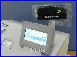 Sharp Xe-a307 Cash Register / Till Full Working Order Xea307 Xe A307 307