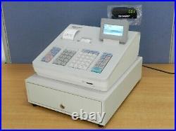 Sharp Xe-a307 Cash Register / Till Fully Working Xea307 (minor Crack On Casing)