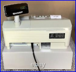 Sharp Xe-a307-w Electronic Cash Register Complete With Till Rolls And Free P&p