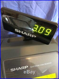 Sharp Xea-213 Cash Register Till For Restaurants, Fast Food. Epos Menu Keyboard