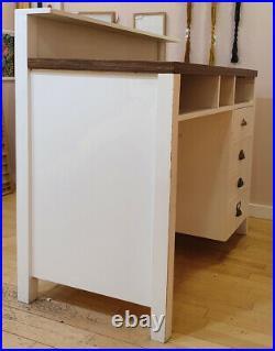 Solid Wood Till / Cash Register Cabinet or Reception Desk for Shop or Office