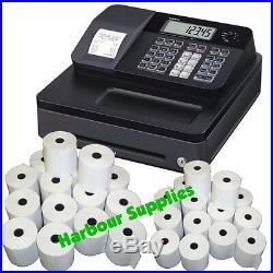 TILL ROLLS TO FIT Casio SE-G1 Black Cash Register SEG1 SEG-1 SE G1