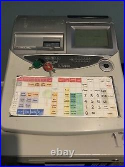 Till / Cash Register / Shop / Cafe Casio TE 2400
