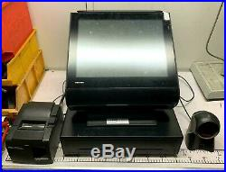 Toshiba Touch Screen Retail Shop Till Cash Register POS System Printer Scanner