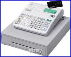 USED CASIO Cash Register SES 2000 Till Memory Protection Batteries Fitted f. O. C