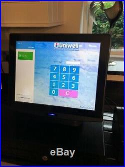 Uniwell HX-4000 Touch Screen till cash register