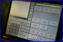 Used Casio QT 6600 QT6600 Epos Cash Register 15 TouchScreen Till Food Pub Club