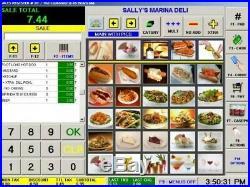 VARIPOS 815S EPOS TOUCH POS Till + CUSTOMER DISPLAY /COFFEE SHOP BAR SALON PIZZA