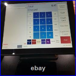 Varipos 715s Epos Pos Cash register till system with software and tablet order