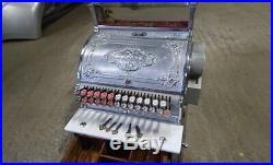 Very Rare Antique Stevensons National Cash Till Register