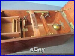 Victorian Cash Register (till) With Bell Beautiful Example Money Not Included