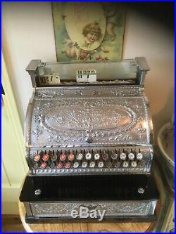 Victorian National Cash Register Till Vintage