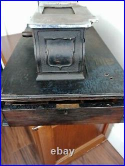 Vintage 1930's Paragon Cash Register Wooden Shop Till Haberdashery