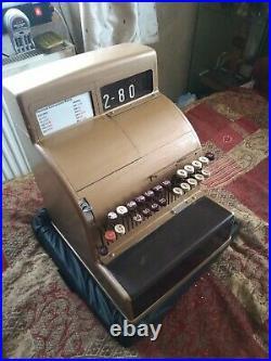 Vintage 1960s / 1970s National Cash Register Till, OPEN ALL HOURS shop prop