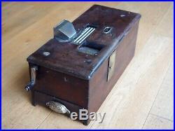 Vintage Antique Wooden Cash Register Till / Period Shop Fitting Prop BELL RINGS