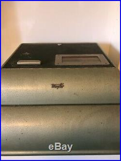 Vintage Cash Register/till. Rare German Mogler Cash Drawer. Streamlined Deco Body