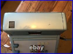 Vintage GROSS Cash Register/Till Retro Blue