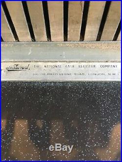 Vintage National Cash Register Till