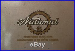 Vintage National Cash Register Till Collectors Item
