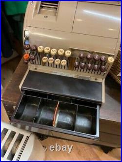 Vintage National Cash Register Till working Original Key