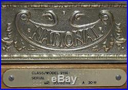Vintage National Shop Till Cast Aluminium Victorian Style National Cash Register