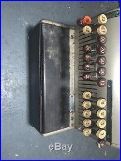 Vintage Retro National Cash Register Mechanical Retail Shop Point Of Sale Till