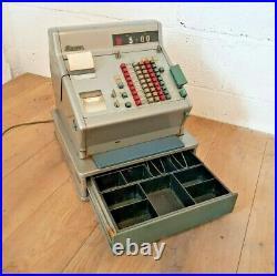 Vintage Shop Till Gross 1970s Cash Register Prop Display