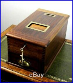 Vintage'The British Till' Wooden Self-Closing Till Cash Register 5530