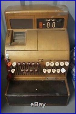 Vintage cash register till Arkwrights prop tv