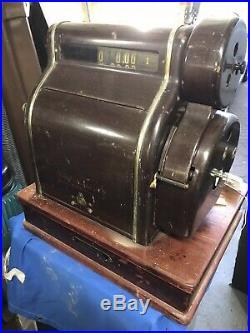 Vintage cash register till Fried Krupp. 1910 Era Cash Regisister