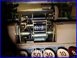 Vintage national cash register till retro