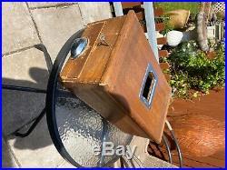 Vintage oak till/cash register