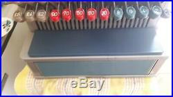 Vintage retro 1960s Gross Shop Retail Display Cash Register Till Working Order
